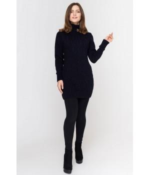 Туника - платье Ида (синий)