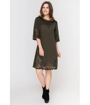 Платье Валенсия (хаки)