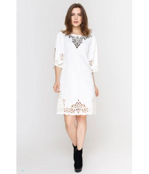Платье Валенсия (молочный)