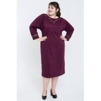Платье Шайли (бордовый)
