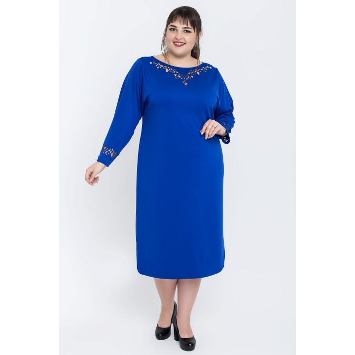 Платье Шайли (электрик)