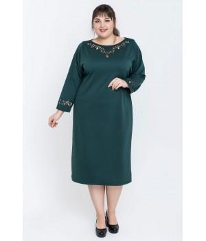 Платье Шайли (зеленый)