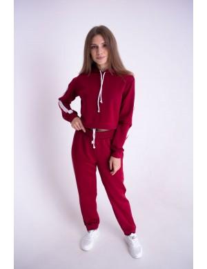 Спортивный костюм Найда (бордовый)