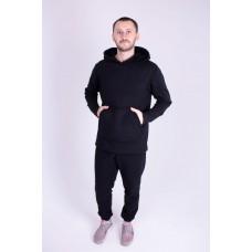 Мужской теплый спортивный костюм Ролинс (черный)