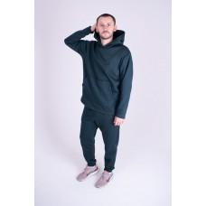 Мужской теплый спортивный костюм Ролинс (зеленый)