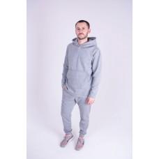Мужской теплый спортивный костюм Ролинс (серый)