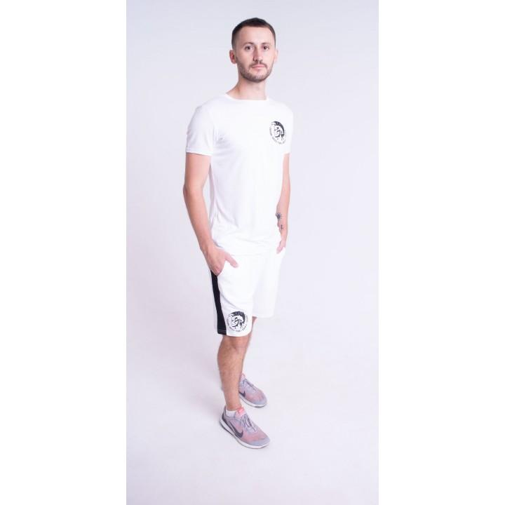 Мужской костюм Дизель (белый)