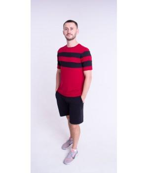 Мужская футболка Гретхем (бордовый)