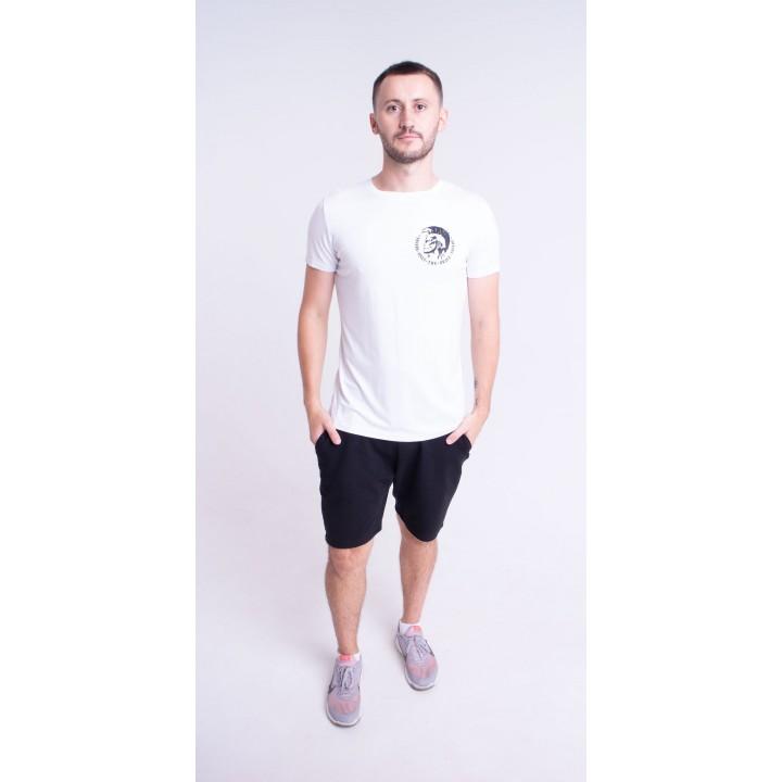 Мужская футболка Хед (белый)