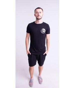 Мужская футболка Хед (черный)