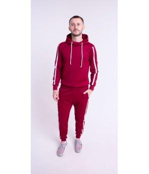 Мужской спортивный костюм Ромен (бордовый)
