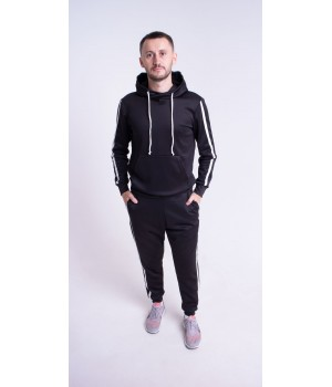 Мужской спортивный костюм Ромен (черный)
