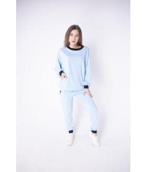 Спортивный костюм Орио (голубой)
