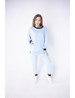 Женский спортивный костюм Орио (голубой)