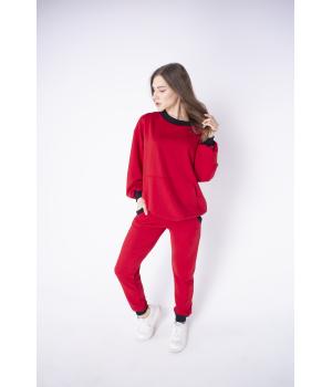 Спортивный костюм Орио (красный)