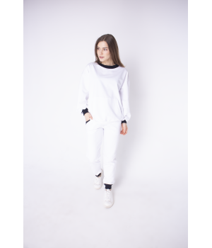 Спортивный костюм Орио (белый)