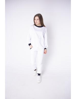 Женский спортивный костюм Орио (белый)