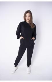 Спортивный костюм женский Орио (черный)