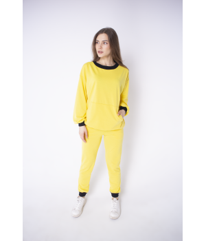 Спортивный костюм Орио (желтый)