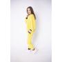 Спортивный костюм женский Орио (желтый)