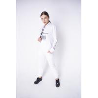 Женский спортивный костюм Штрихкод (белый)