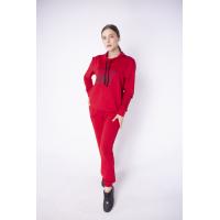Женский спортивный костюм Штрихкод (красный)