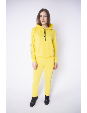 Женский спортивный костюм Кенди (желтый)