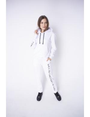 Женский спортивный костюм Кенди (белый)