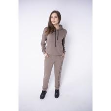Женский спортивный костюм Кенди (коричневый)