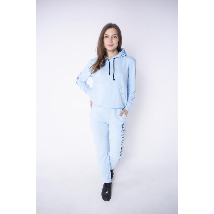 Купить женский спортивный костюм Кенди (голубой)