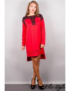 Платье Этилия (красный)