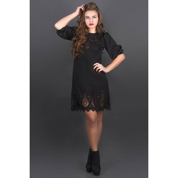 Платье Айсель (черный)