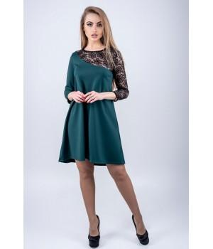 Платье Сакура (зеленый)
