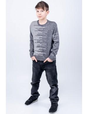 Детский свитер Виктор (серый)