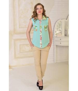 Рубашка Одилия (ментол)   оптовая цена