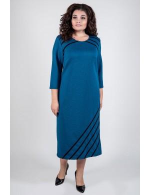 Платье Камелия (морская волна)