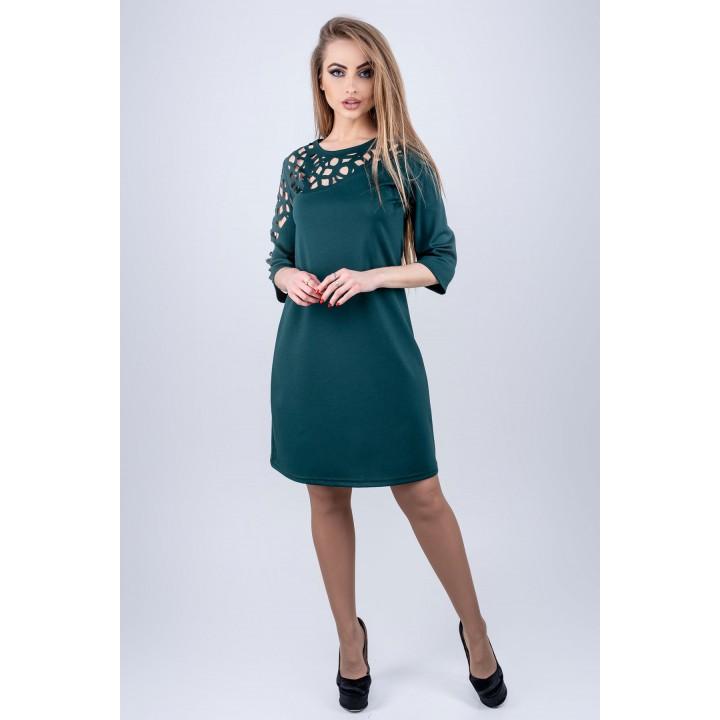 Платье Луиза (зеленый)