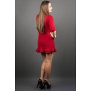 Платье Кураж (бордовый)