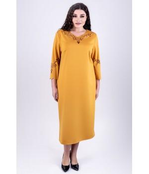 Платье Молли (горчичный)