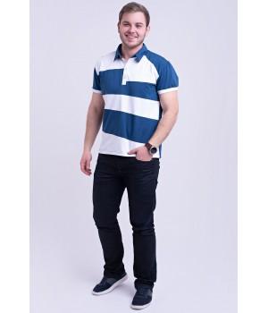 Мужская футболка Зидан (синий)