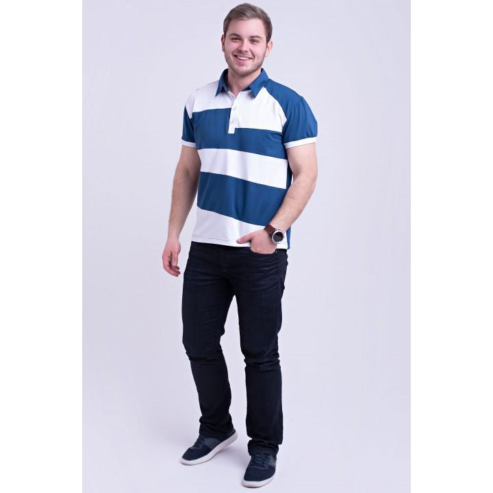 Купить мужскую футболку  Зидан (синий)
