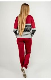 Спортивный костюм Памела (бордовый)