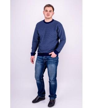 Мужской свитер Валик (синий)