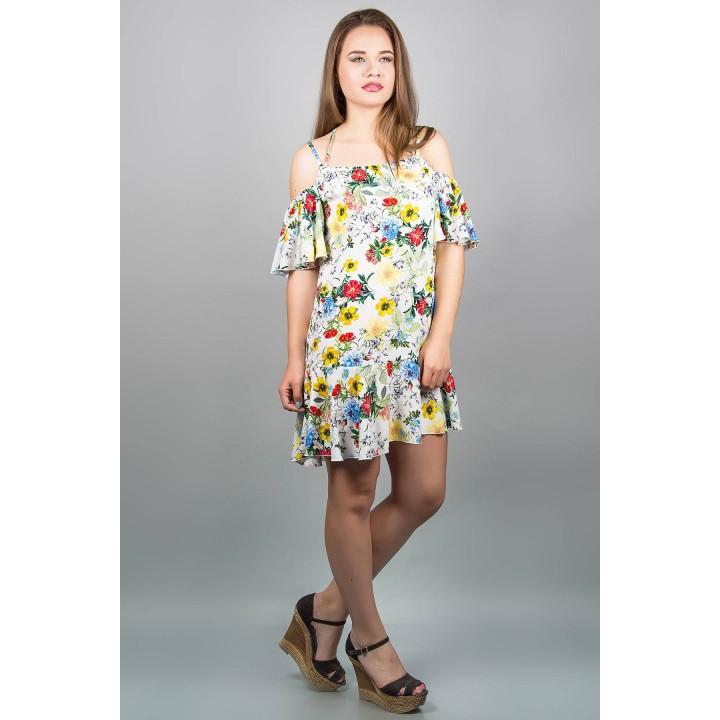 Сарафан Вивьен (цветы)  оптовая цена