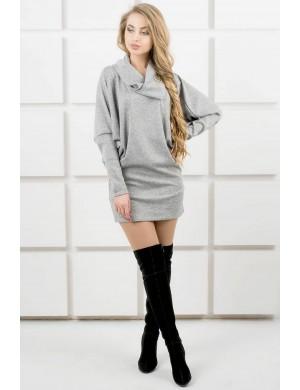 Платье-туника Шерли (серый)