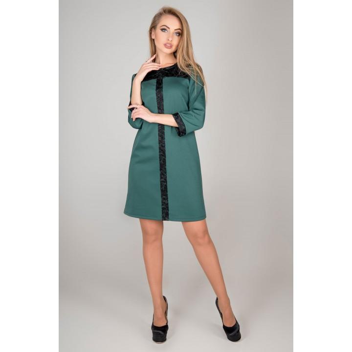 Платье Таура (зеленый)