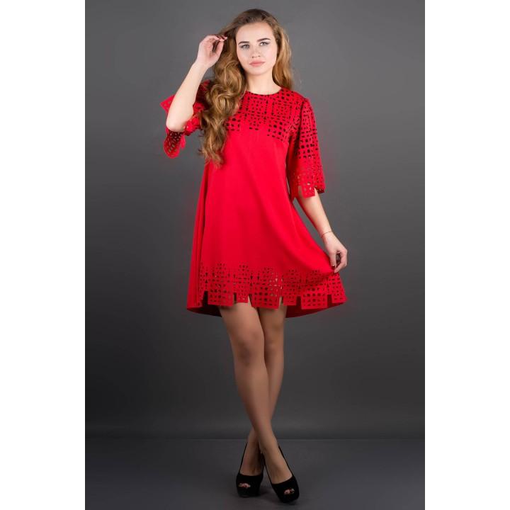Платье Айви (красный)