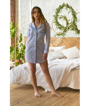 Пижама Табатта (голубой)