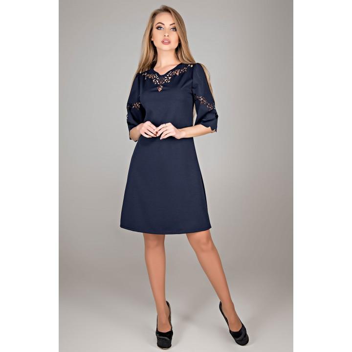 Платье Диколь (синий) Оптовая цена
