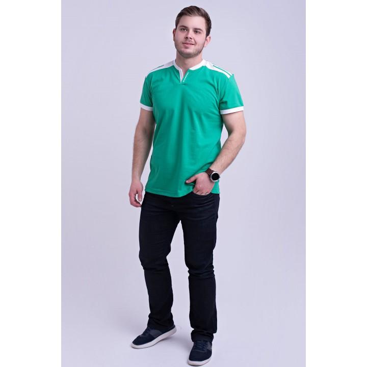 Мужская футболка Рональдо (мятный) оптовая цена